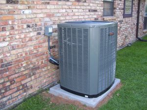 Image of outdoor central AC